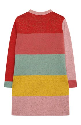 Детское хлопковое платье STELLA MCCARTNEY разноцветного цвета, арт. 601166/SPM23   Фото 2