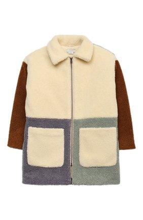 Детское пальто STELLA MCCARTNEY коричневого цвета, арт. 601019/SPK11 | Фото 1