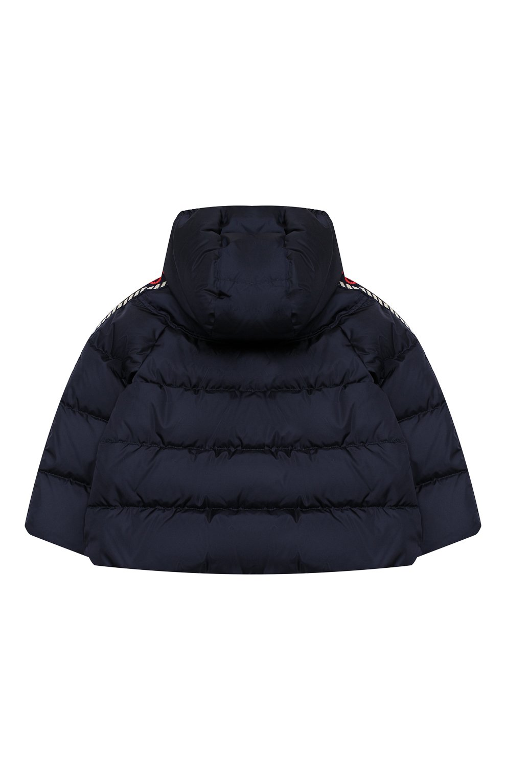 Детского пуховая куртка GUCCI синего цвета, арт. 622832/XWAK7 | Фото 2