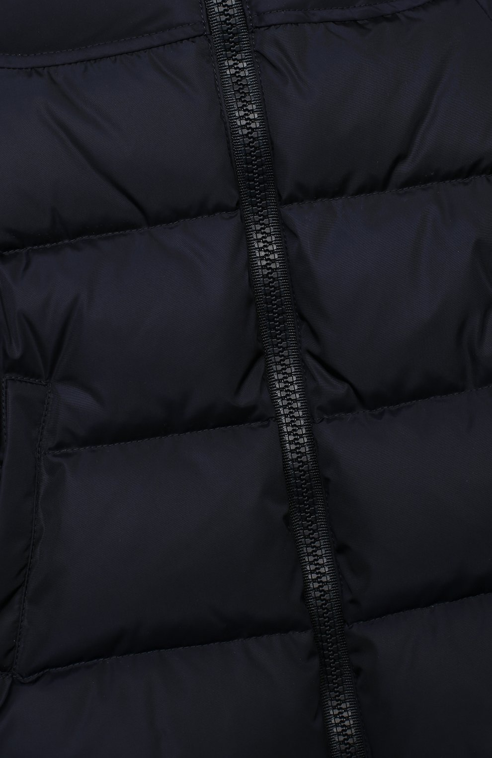 Детского пуховая куртка GUCCI синего цвета, арт. 622832/XWAK7 | Фото 3