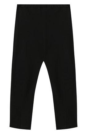 Детские брюки SIMONETTA черного цвета, арт. 1N6030/NC660/10-14+ | Фото 1