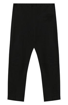 Детские брюки SIMONETTA черного цвета, арт. 1N6030/NC660/10-14+ | Фото 2