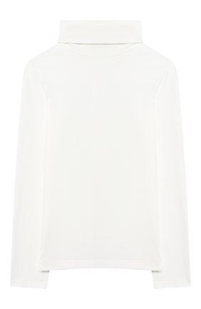 Детская хлопковая водолазка SIMONETTA бежевого цвета, арт. 1N8100/NC470/10-14+ | Фото 1