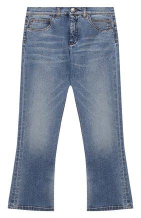 Детские джинсы BALMAIN голубого цвета, арт. 6N6100/NA320/4-10 | Фото 1