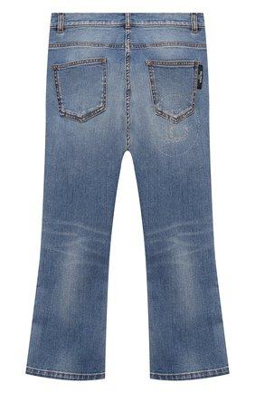 Детские джинсы BALMAIN голубого цвета, арт. 6N6100/NA320/4-10 | Фото 2