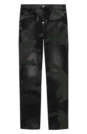Детские джинсы PHILIPP PLEIN хаки цвета, арт. F20C BDT0275 PDE004N | Фото 1