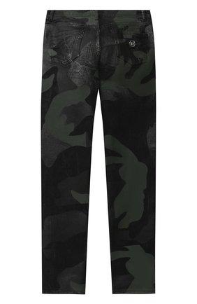 Детские джинсы PHILIPP PLEIN хаки цвета, арт. F20C BDT0275 PDE004N | Фото 2