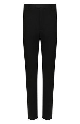 Мужской брюки BOTTEGA VENETA черного цвета, арт. 636527/V02W0 | Фото 1