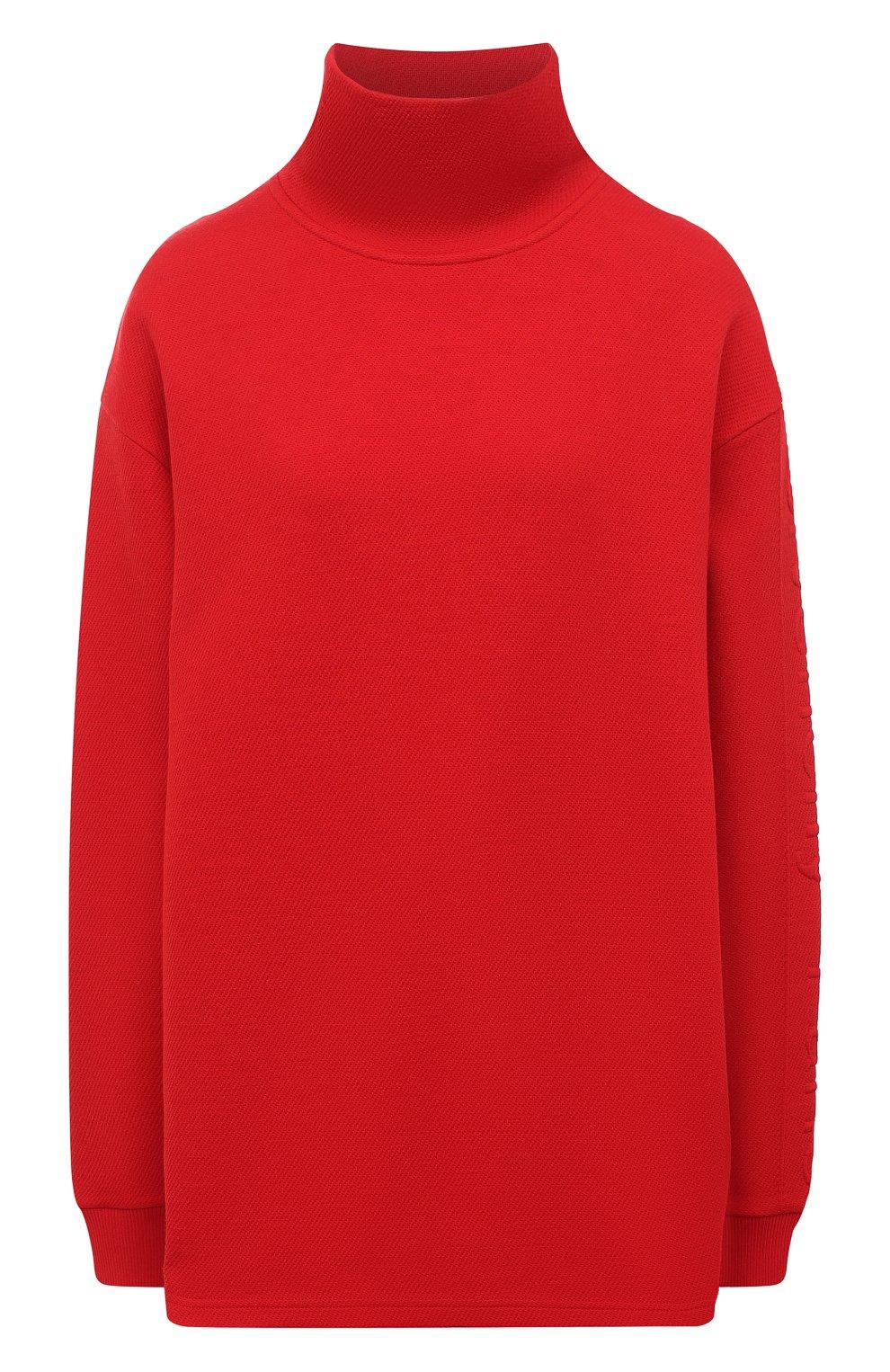 Женский пуловер GIVENCHY красного цвета, арт. BWJ01Q30JA   Фото 1