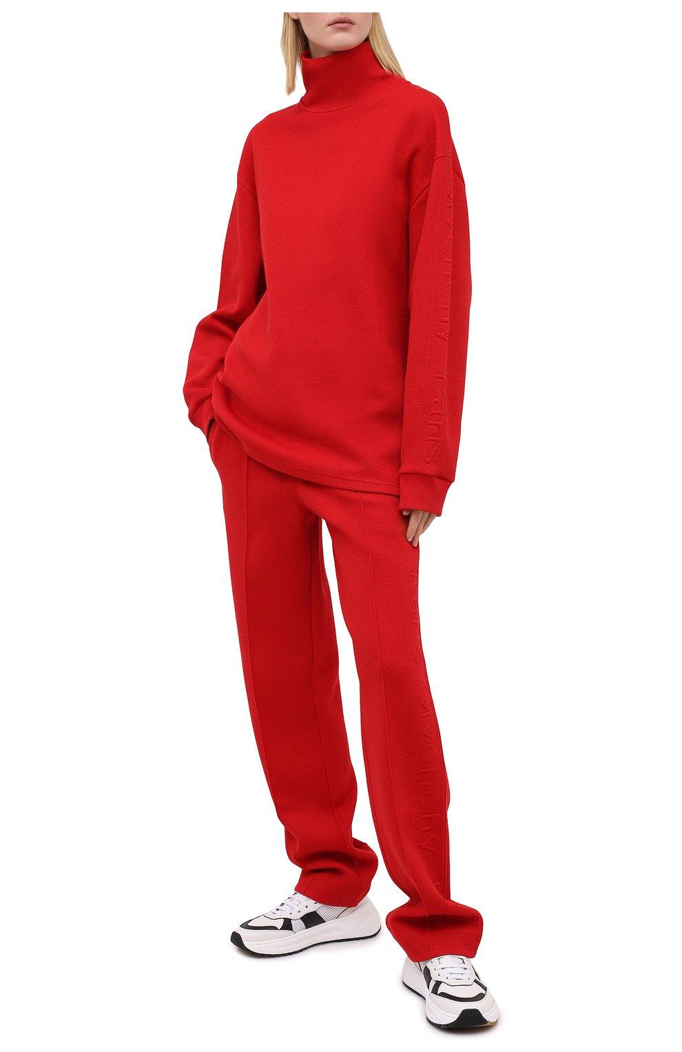 Женский пуловер GIVENCHY красного цвета, арт. BWJ01Q30JA   Фото 2