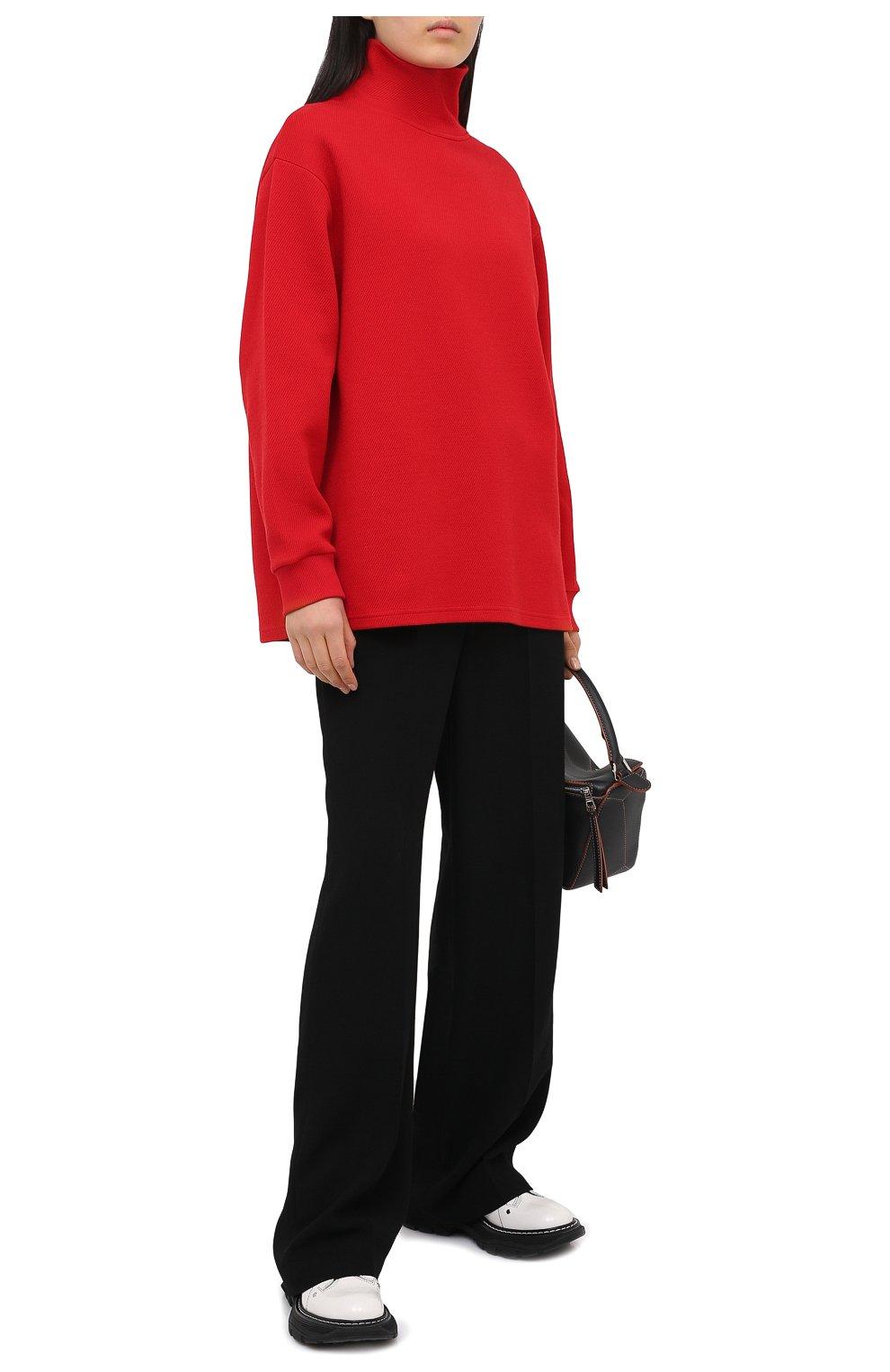 Женский пуловер GIVENCHY красного цвета, арт. BWJ01Q30JA   Фото 3