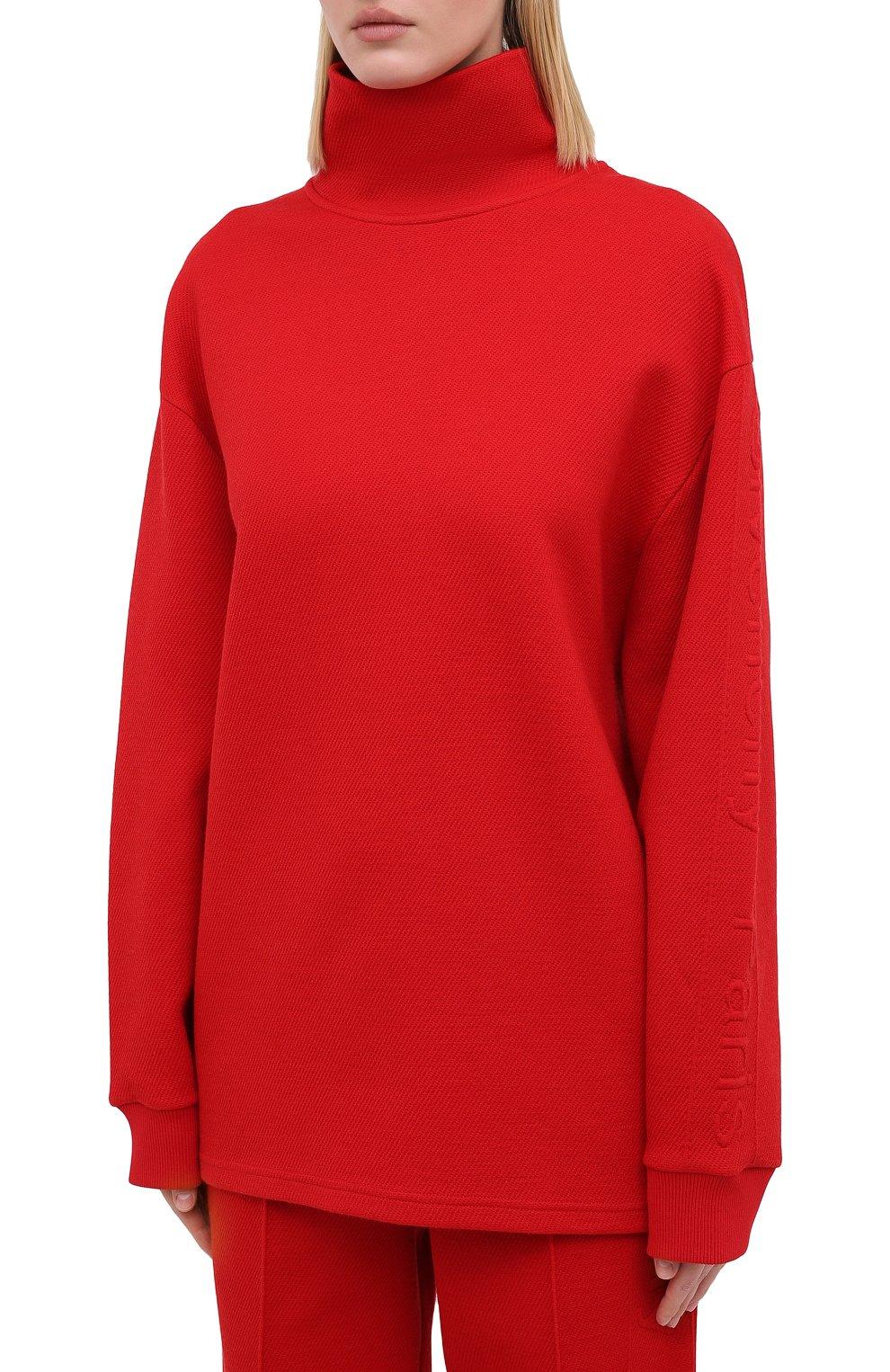 Женский пуловер GIVENCHY красного цвета, арт. BWJ01Q30JA   Фото 4