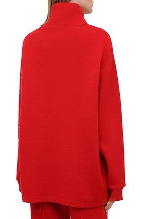 Женский пуловер GIVENCHY красного цвета, арт. BWJ01Q30JA   Фото 5