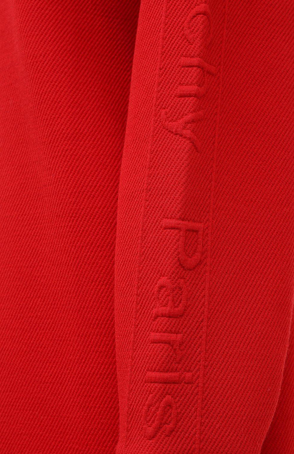 Женский пуловер GIVENCHY красного цвета, арт. BWJ01Q30JA   Фото 6