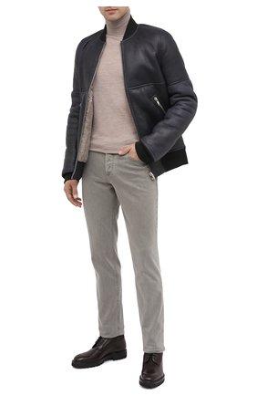 Мужские кожаные ботинки W.GIBBS темно-коричневого цвета, арт. 7260007/2251 | Фото 2