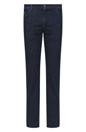 Мужские джинсы ZILLI темно-синего цвета, арт. MCU-00080-HIPE1/S001 | Фото 1
