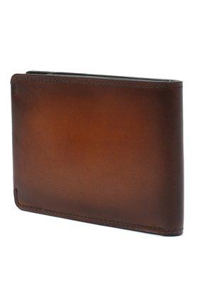Мужской кожаное портмоне BERLUTI коричневого цвета, арт. N152797 | Фото 2