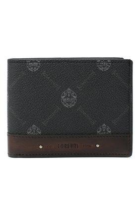 Мужской портмоне BERLUTI черного цвета, арт. N207362 | Фото 1