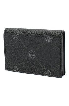 Мужской футляр для кредитных карт BERLUTI черного цвета, арт. N207371 | Фото 2