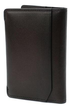 Мужской кожаный футляр для кредитных карт BERLUTI темно-коричневого цвета, арт. N211842 | Фото 2