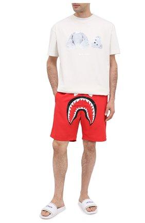 Детского плавки-шорты BAPE красного цвета, арт. 1G30153011 | Фото 2