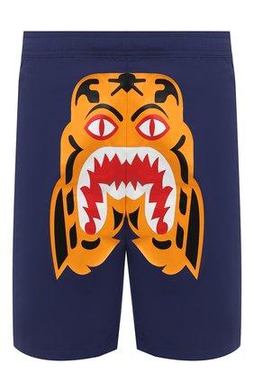 Детского плавки-шорты BAPE синего цвета, арт. 1G30153016 | Фото 1