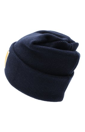 Мужская шерстяная шапка DSQUARED2 синего цвета, арт. KNM0001 13620001 | Фото 2