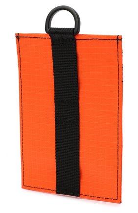 Мужской текстильный футляр для кредитных карт ACNE STUDIOS оранжевого цвета, арт. C80037/M | Фото 2