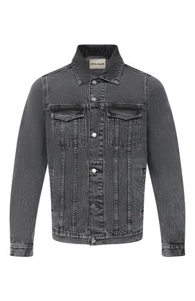 Мужская джинсовая куртка DON THE FULLER темно-серого цвета, арт. DHW0/LI0NE/DTF/72UP | Фото 1