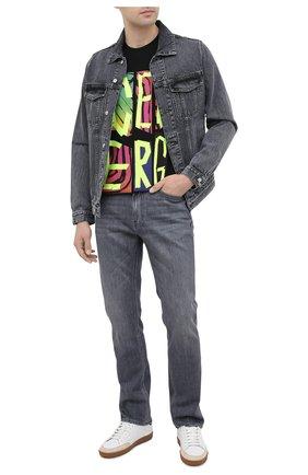 Мужская джинсовая куртка DON THE FULLER темно-серого цвета, арт. DHW0/LI0NE/DTF/72UP | Фото 2
