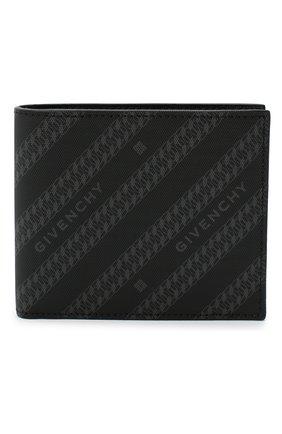 Мужской комбинированное портмоне GIVENCHY черного цвета, арт. BK6005K0Z0 | Фото 1