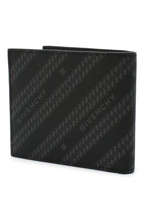 Мужской комбинированное портмоне GIVENCHY черного цвета, арт. BK6005K0Z0 | Фото 2