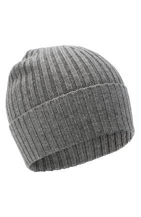 Мужская шерстяная шапка BOSS серого цвета, арт. 50435354 | Фото 1