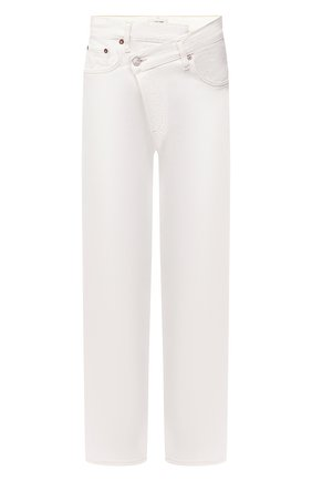 Женские джинсы AGOLDE белого цвета, арт. A097-1183 | Фото 1