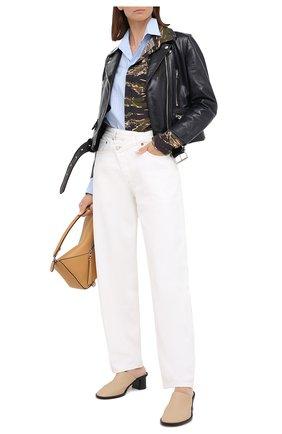 Женские джинсы AGOLDE белого цвета, арт. A097-1183 | Фото 2