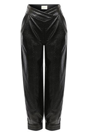 Женские брюки GIUSEPPE DI MORABITO черного цвета, арт. PF20036PA-47 | Фото 1