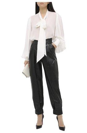 Женские брюки GIUSEPPE DI MORABITO черного цвета, арт. PF20036PA-47 | Фото 2