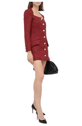 Женское шерстяное платье GIUSEPPE DI MORABITO красного цвета, арт. PF20153DR-09-PDP | Фото 2