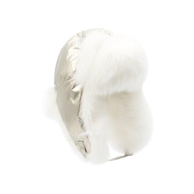 Меховая шапка-ушанка Yves Salomon