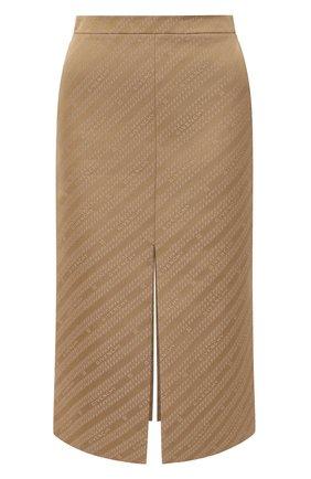 Женская юбка GIVENCHY бежевого цвета, арт. BW40EE12YF | Фото 1