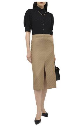 Женская юбка GIVENCHY бежевого цвета, арт. BW40EE12YF | Фото 2