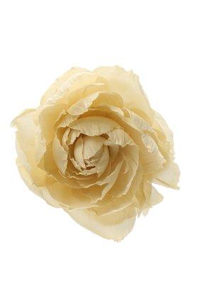 брошь pion FLOWER ME кремвого цвета, арт. PION-NS023010L   Фото 1