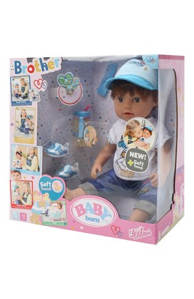 Детского игрушка baby born ZAPF CREATION разноцветного цвета, арт. 826-911 | Фото 2