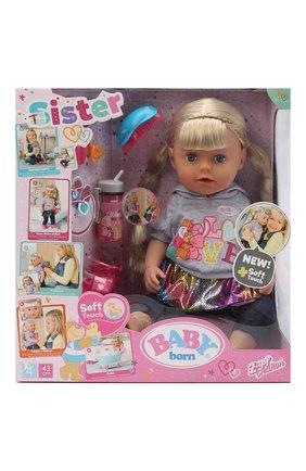 Детского игрушка baby born ZAPF CREATION разноцветного цвета, арт. 824-603 | Фото 1