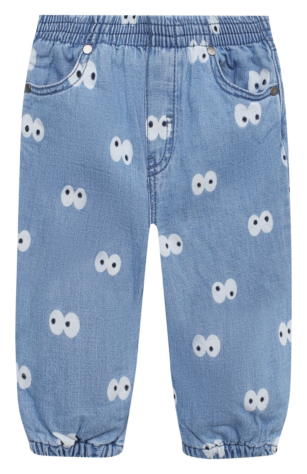 Детские джинсы STELLA MCCARTNEY голубого цвета, арт. 601541/SPK81 | Фото 1