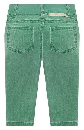 Детские джинсы STELLA MCCARTNEY зеленого цвета, арт. 601539/SPK76 | Фото 2
