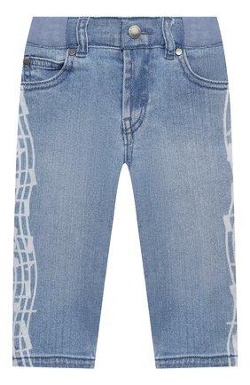 Детские джинсы STELLA MCCARTNEY голубого цвета, арт. 601539/SPK75 | Фото 1