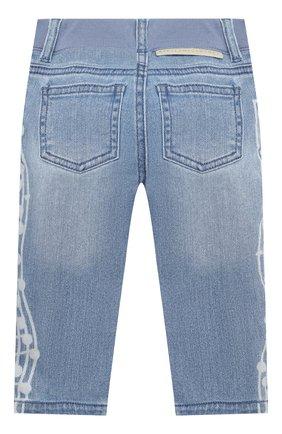 Детские джинсы STELLA MCCARTNEY голубого цвета, арт. 601539/SPK75 | Фото 2