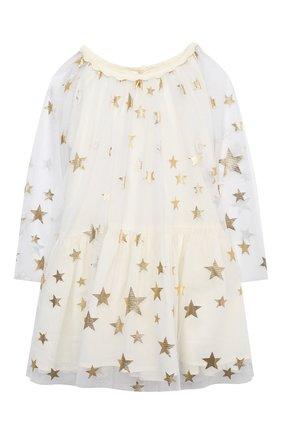 Женская комплект из платья и шорт STELLA MCCARTNEY бежевого цвета, арт. 601461/SPK85 | Фото 2