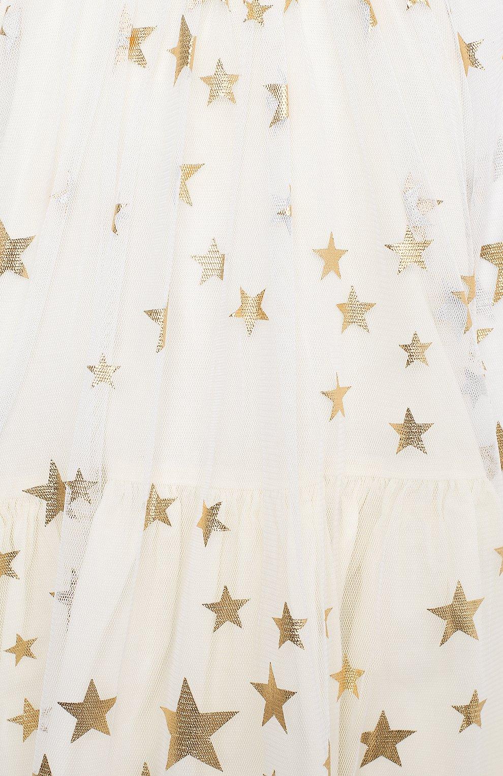 Женская комплект из платья и шорт STELLA MCCARTNEY бежевого цвета, арт. 601461/SPK85 | Фото 6